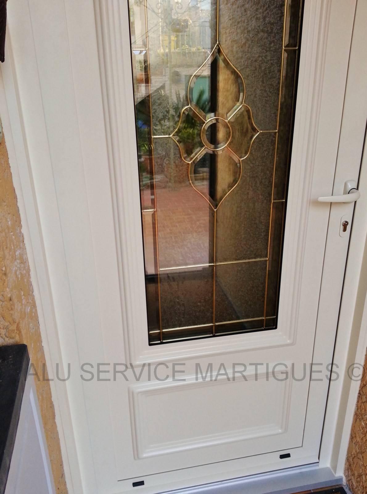 Porte d 39 entree prefal aluminium pose de moustiquaire sur - Reglage porte d entree 5 points ...