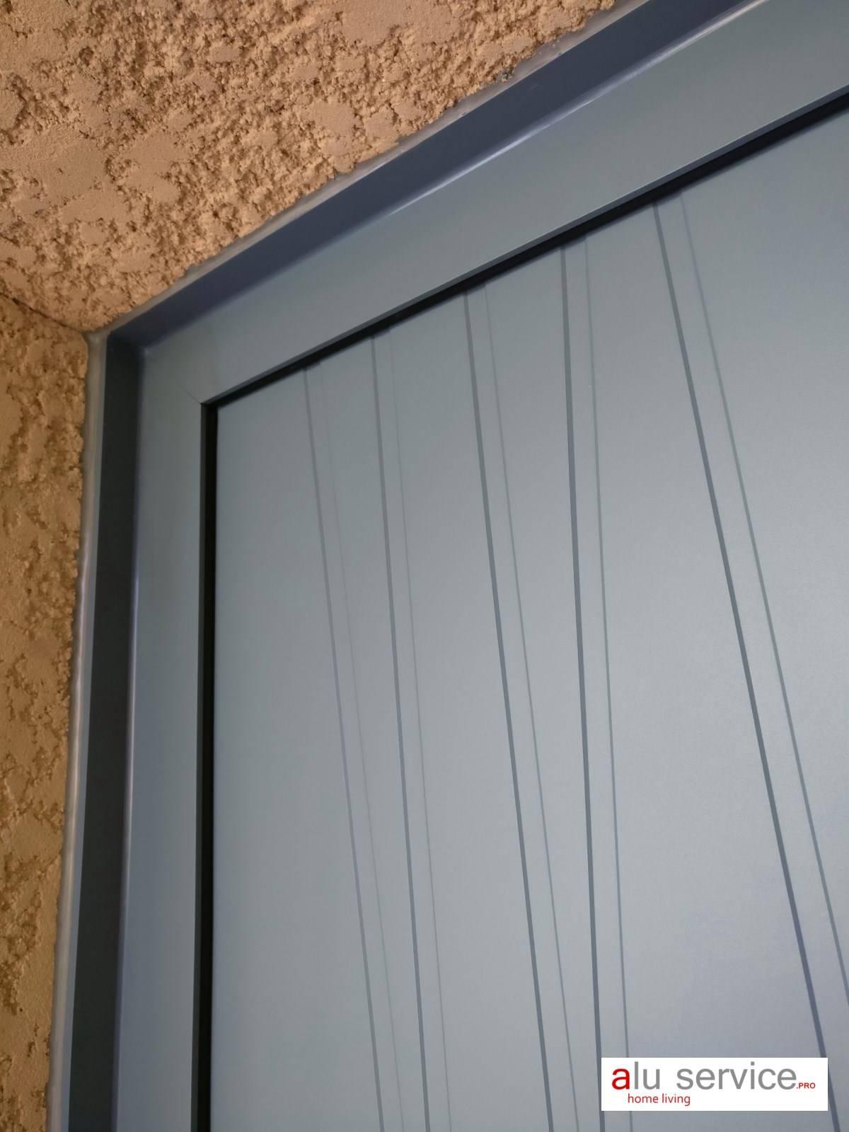 R alisation porte d 39 entr e aluminium 5 points sur istres pose de moustiquaire sur mesure - Reglage porte d entree 5 points ...