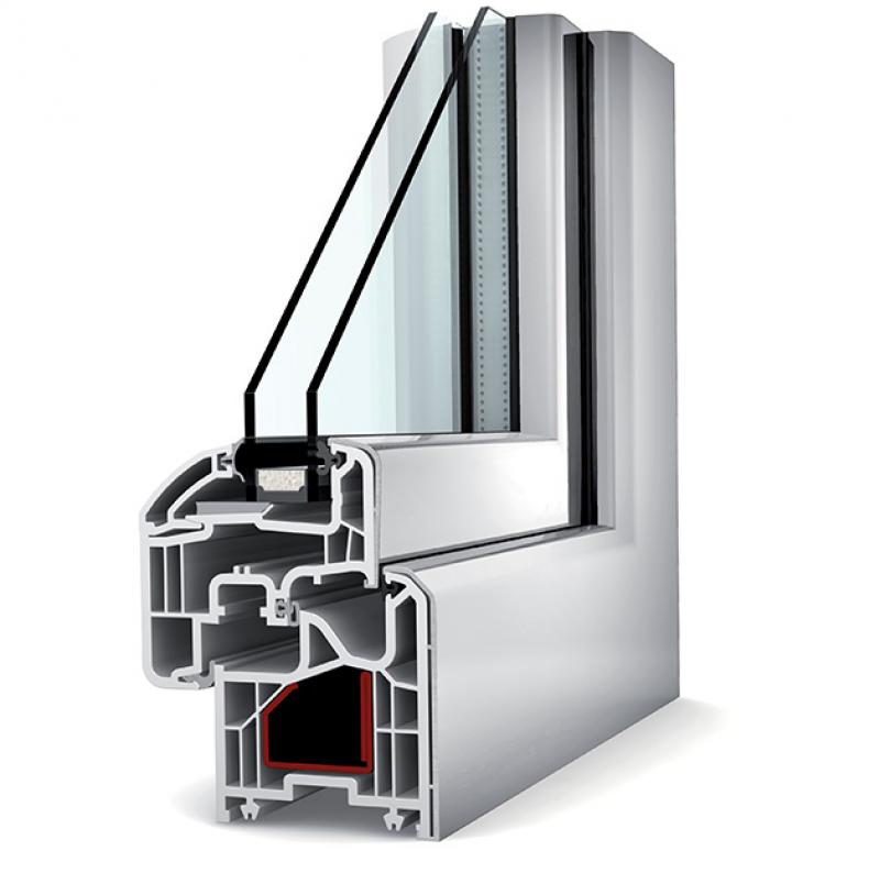 Fen tres et porte fen tres pvc aluminium internorm chez for Fenetre pvc et aluminium